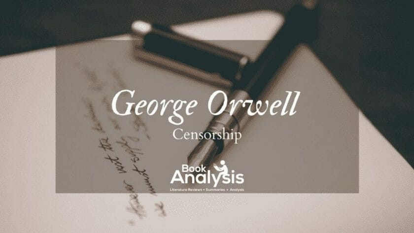 Censorship and George Orwell 1