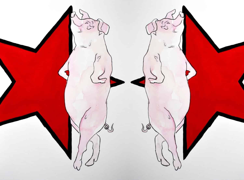 Animal Farm by George Orwell Artwork Artwork
