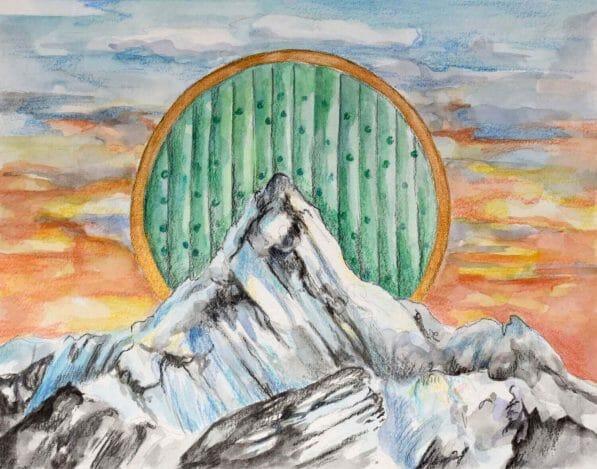 The Hobbit by JRR Tolkien artwork