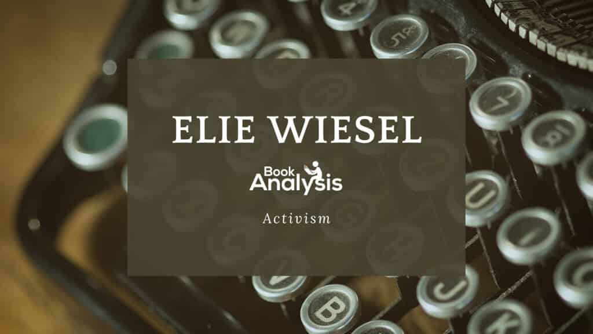 Elie Wiesel Activism