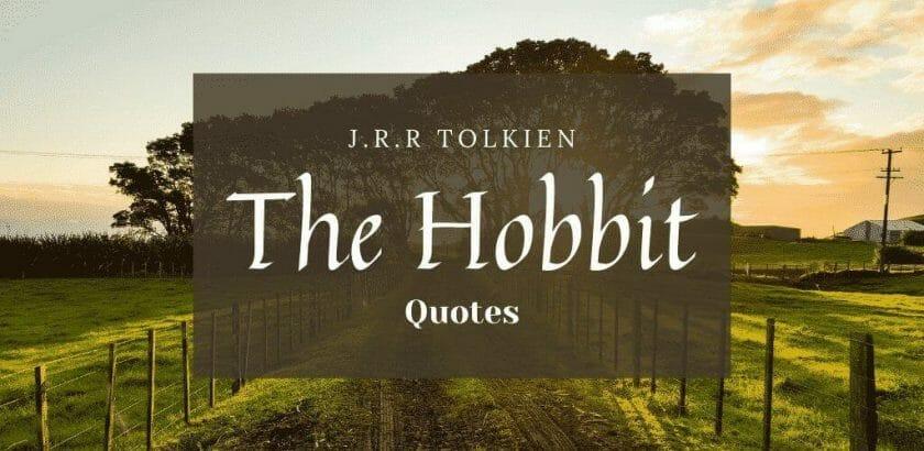 The Hobbit Important Quotes