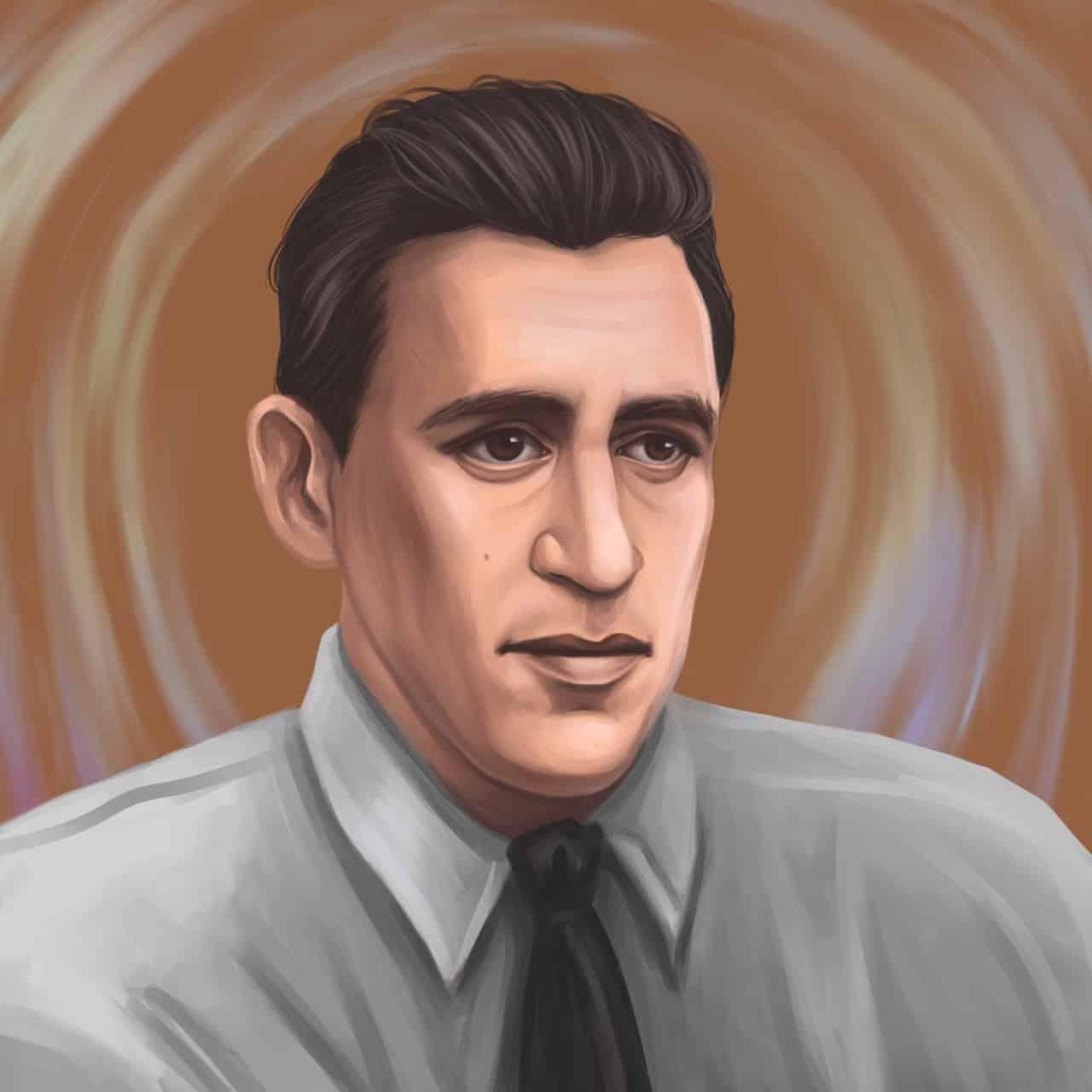 J.D. Salinger Portrait