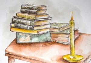 Book Thief by Markus Zusak Artwork